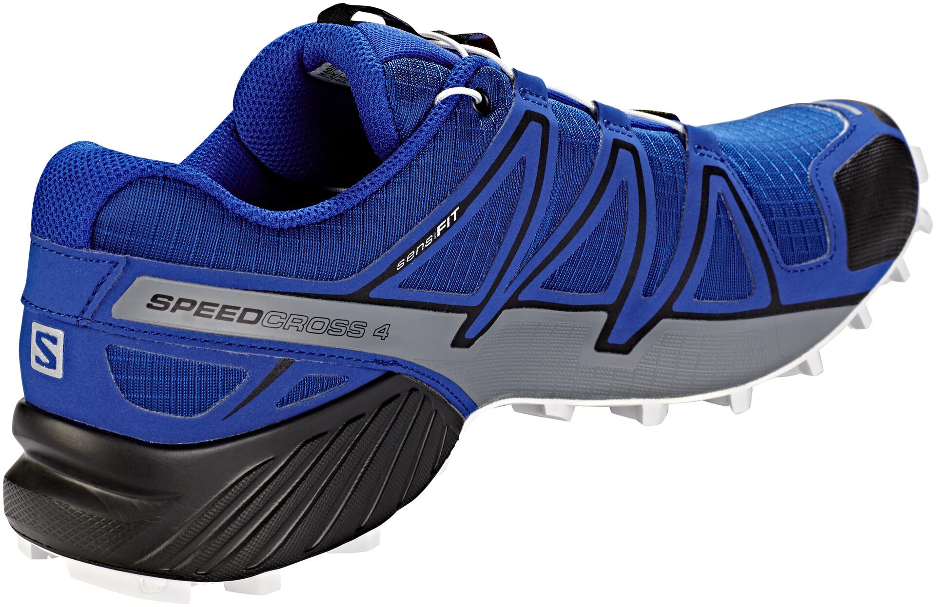 Salomon Speedcross 4 Shoes Herren mazarine blue wilblackwhite